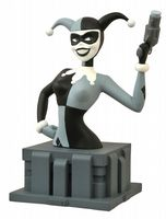 Batman Animated Series Bust - NYCC Black & White Harley Quinn